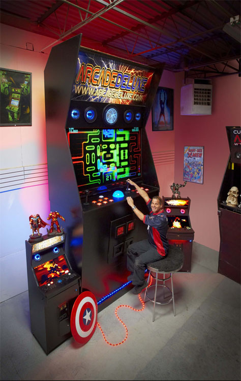 World's Largest Arcade Machine Is Taller Than An Elephant | STEAM ...