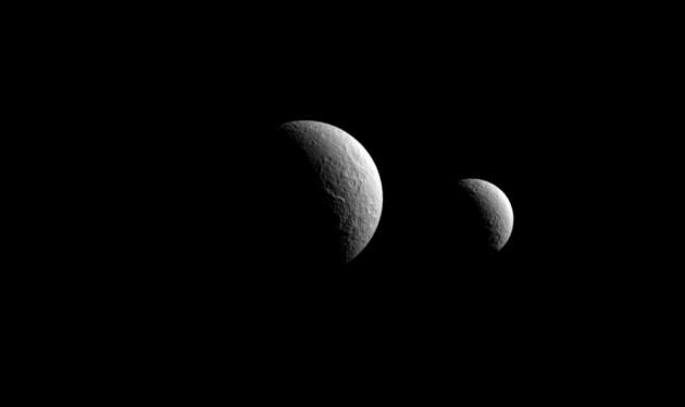 Cosmic Wonders – Celestial Saturnian Sisters