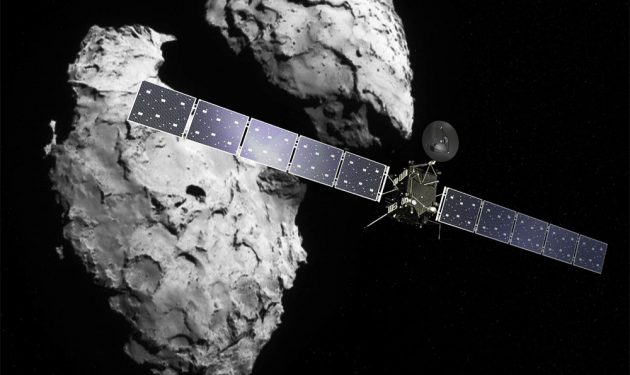 Rosetta the Comet Chaser